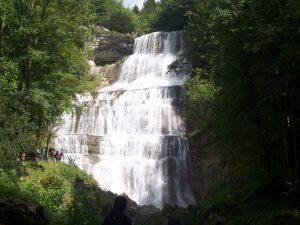 Cascade tourisme Jura