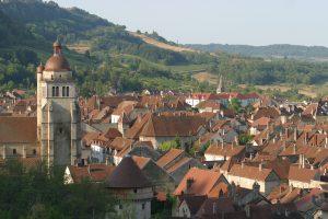 Poligny ville touristique du Jura